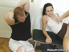 Squirted and made a cuckold