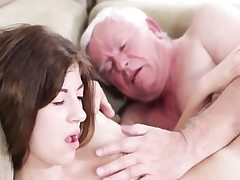 Hard-core aged youthfull hook-up with muddy granddad