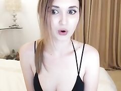 Uber-sexy nubile wedges fuck stick in her cunny