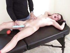 Junior whore mega-slut gets kittled in restrain bondage